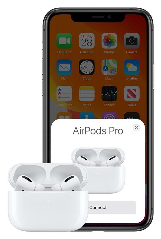 Apple AirPods Pro подключение к iPhone