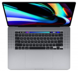 "MacBook Pro 16 with Retina display and Touch Bar Late 2019 Space Gray MVVJ2 (Intel Core i7 2600 MHz/16""/3072x1920/16GB/512GB SSD/DVD нет/AMD Radeon Pro 5300M 4GB/Wi-Fi/Bluetooth/macOS)"