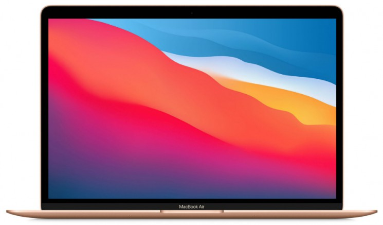 "Apple MacBook Air 13 Late 2020 Gold MGNE3 (8-Core Apple M1/13.3""/2560x1600/8GB/256GB SSD/macOS)"