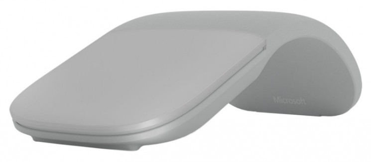Беспроводная мышь Microsoft Surface Arc Bluetooth Mouse (Light Grey)